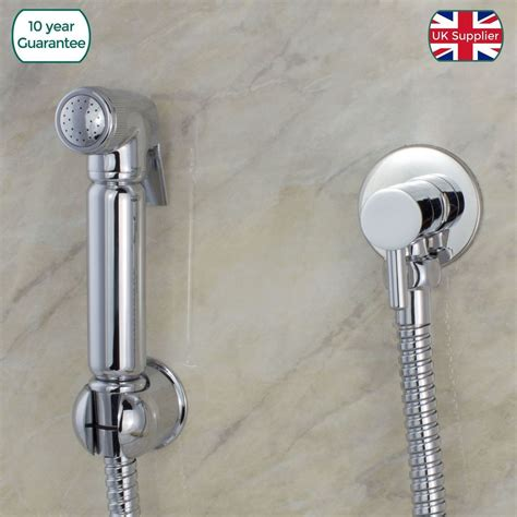Toilet Douche Attachment by Chrome Muslim Shataff Bidet Douche Hand Shower Toilet
