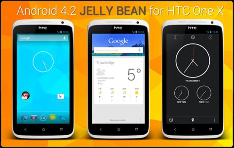 android 4 2 jelly bean htc one x gets android 4 2 2 jelly bean update with aosp rom how to install