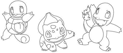 pokemon kanto coloring pages starter pokemon coloring pages images pokemon images