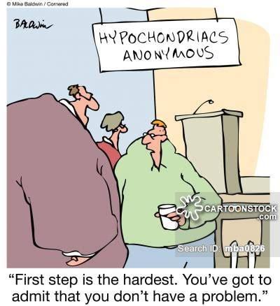 12 Step Memes - hypochondriacs anonymous cartoons and comics funny