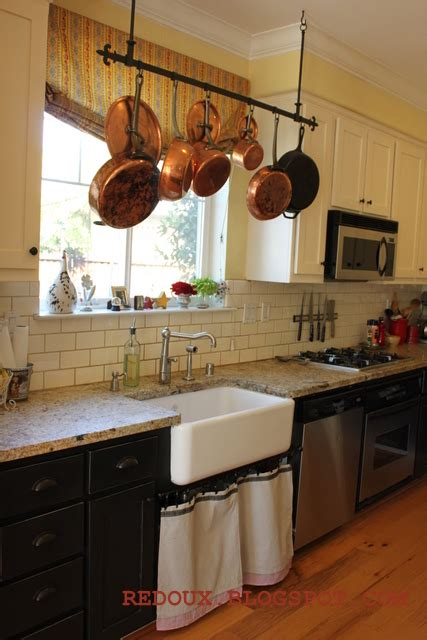 kitchen island with hanging pot rack welcome to inspiration friday no 52 hanging pot racks