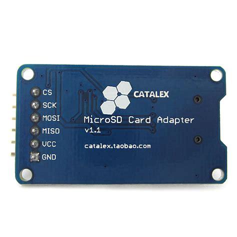 Murah Microsd Card Module Spi Arduino Raspberry Pi arduino spi micro sd tf card adapter module