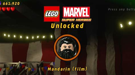 mandarin film lego marvel lego marvel unlock mandarin film youtube