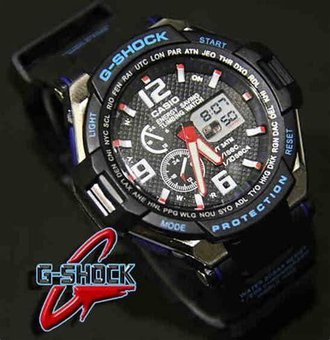 Casio G Shock Gwa1045 Jam Tangan Pria Gshock Tl02 casio g shock g4000 code 4os149 180 000 jam tangan pria kombinasi analog digital mesin