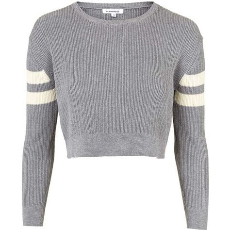 Sweeter Crop topshop knitted cropped jumper by glamorous 41 liked
