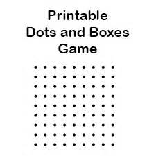 free printable dots and boxes game boards play the dot game