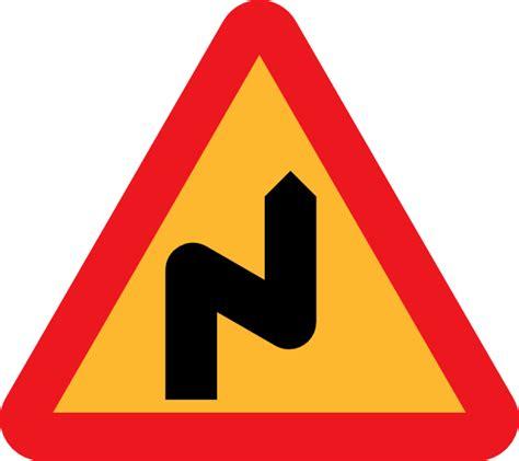 road pattern png zig zag road sign clip art free vector 4vector