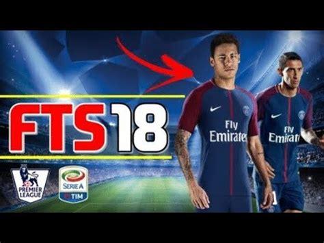 cara mod game pes java cara download install fts 18 mod pes neymar transfer