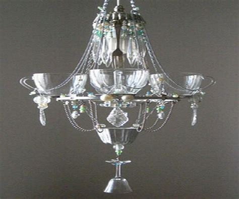 5 Eco Friendly Home Products Made Using Recycled Materials Chandeliers Made From Recycled Materials