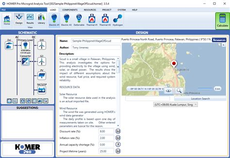 homer pro microgrid software for designing optimized