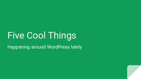 5 Things Cool And by Rindy Portfolio All Day All Week