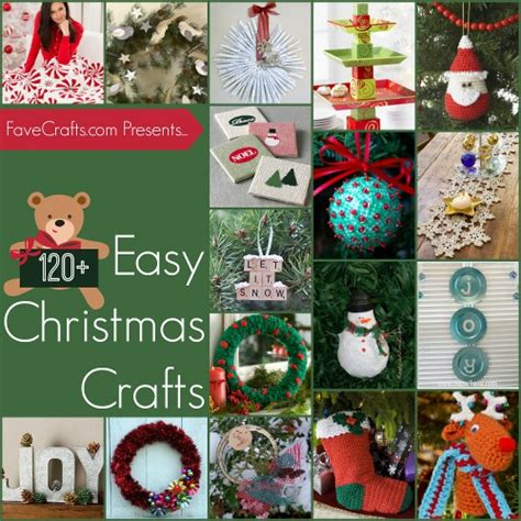 free easy christmas crafts for kids to make