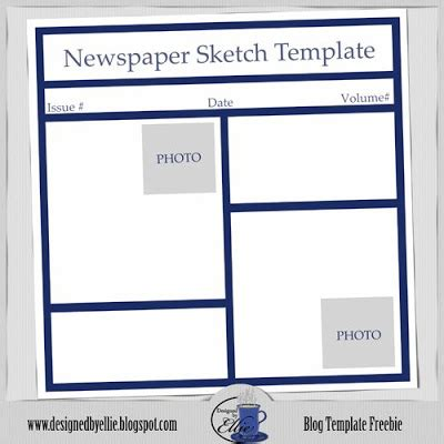 microsoft newspaper template new one newspaper template