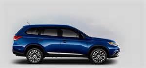 Blue Mitsubishi Outlander 2016 Mitsubishi Outlander Color Options