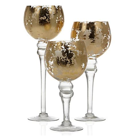 Mercury Glass Candle Holders Z Gallerie by Tealight Trio Entertaining Collections Z
