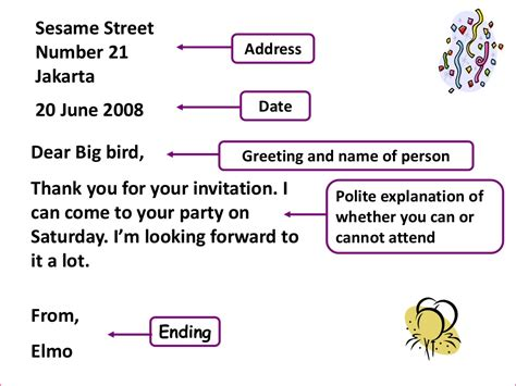 generic structure of application letter invitation card generic structure images invitation