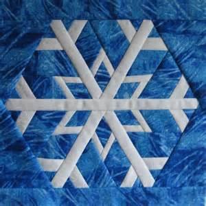 free quilt pattern snowflake 2