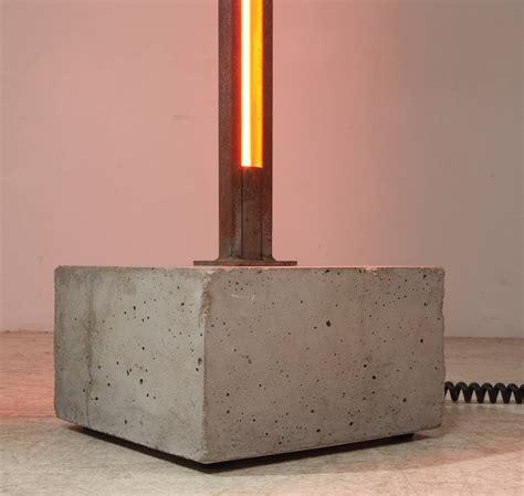 pentagon steel pentagon concrete and steel neon floor l by gerd arens
