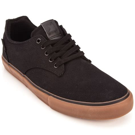 dekline shoes dekline tim tim shoes black gum canvas 10 0