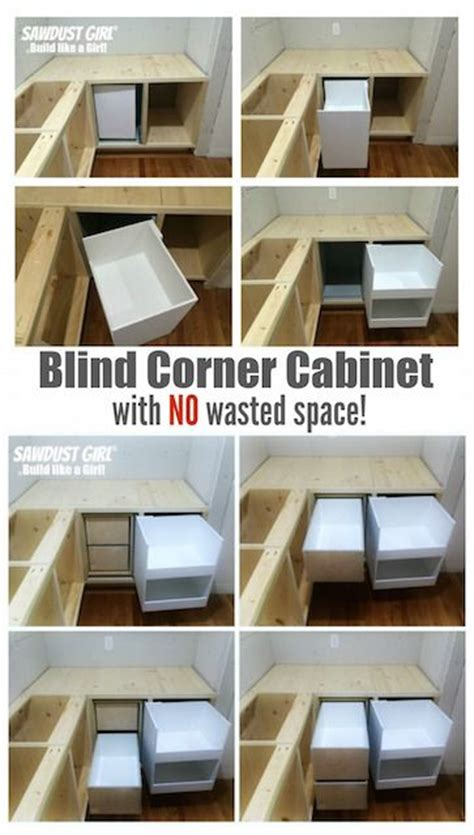 diy corner cabinet with no wasted space sawdust the world s catalog of ideas