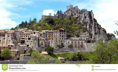 House Plans And More by Sisteron Stock Photo Image Of Provence World Travel