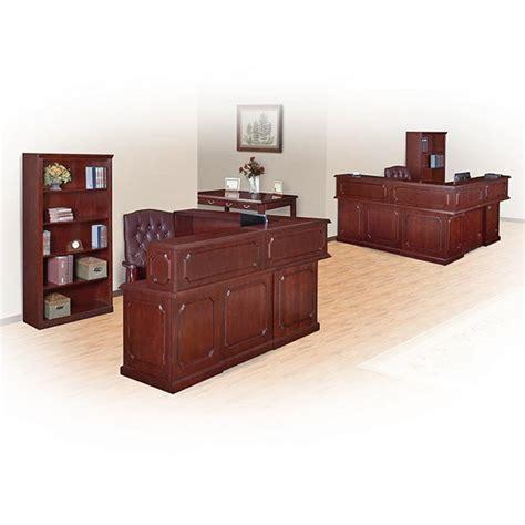 regency office furniture reception desk 72 quot w x 83 quot d