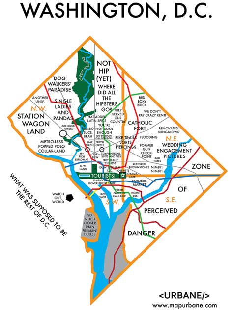 dc neighborhood map washington dc neighborhood culture map urbane map store