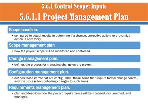 Technology Management Mba Scope by 05 Project Scope Management