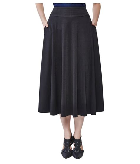 buy and polyester pleated skirt at best prices in