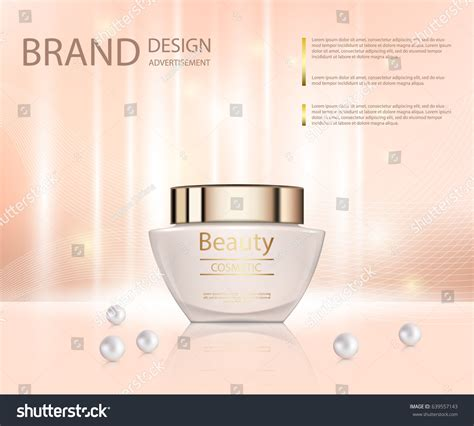 design poster cosmetic poster promotion cosmetic moisturizing premium product