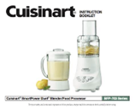 Cuisinart Bfp 703 Series Blender Food Processor Manual