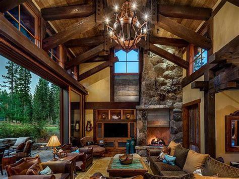 rustic inspired interior decor  living room fooz world