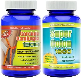 Garcinia Cambogia Elite And Detox Combo Diet by Garcinia Cambogia And Colon Cleanse Combo Ultimate Duo