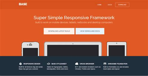 Best Html5 Responsive Frameworks Eagle081183 S Blog Foundation Html5 Templates