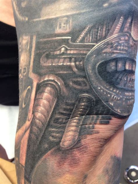 xenomorph tattoo 144 best images about h r giger inspired tattoos on