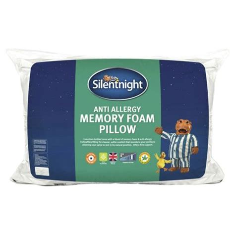 Tesco Memory Foam Pillow by Buy Slientnight Memory Foam Pillow Single From Our Pillows
