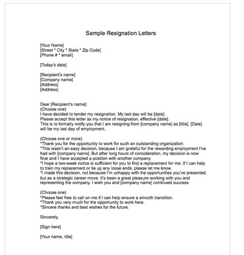 Reply To Resignation Letter Without Notice Resignation Letter Sles Template Top Form Templates Free Templates