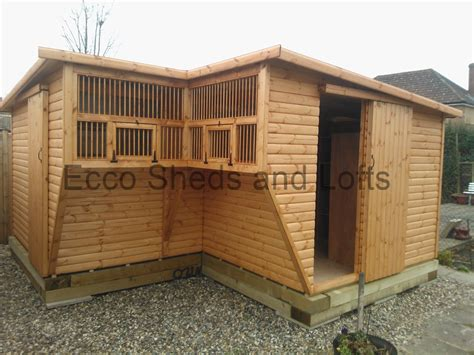 Pigeon Sheds l shape lofts ecco sheds and pigeon lofts