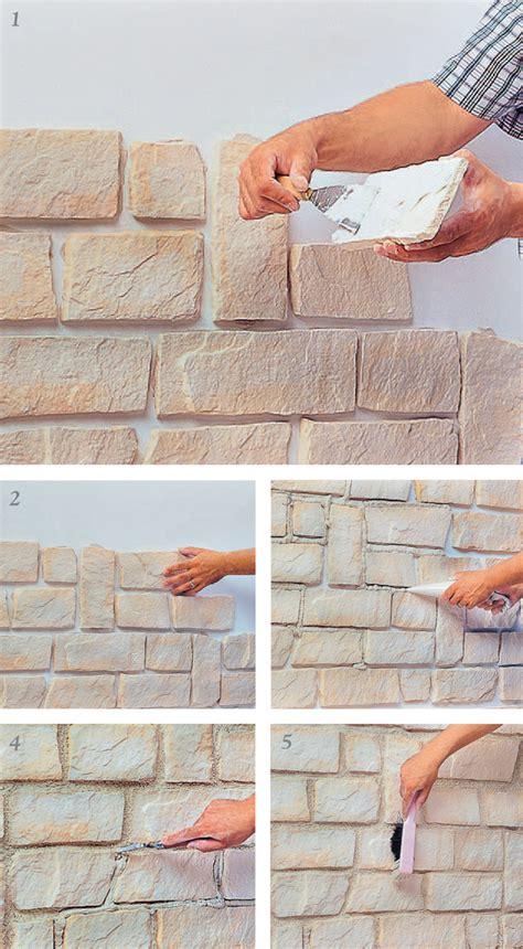 pareti per interni in pietra pannelli finta pietra come sceglierli e come installarli