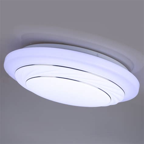 modern 24w led 7000k ceiling light panel l flush mount