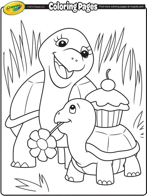 summer coloring pages crayola turtle mommy on crayola com when pinterest turtle