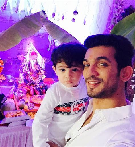 actor ganesh instagram pix tv actors arjun bijlani karan tacker celebrate