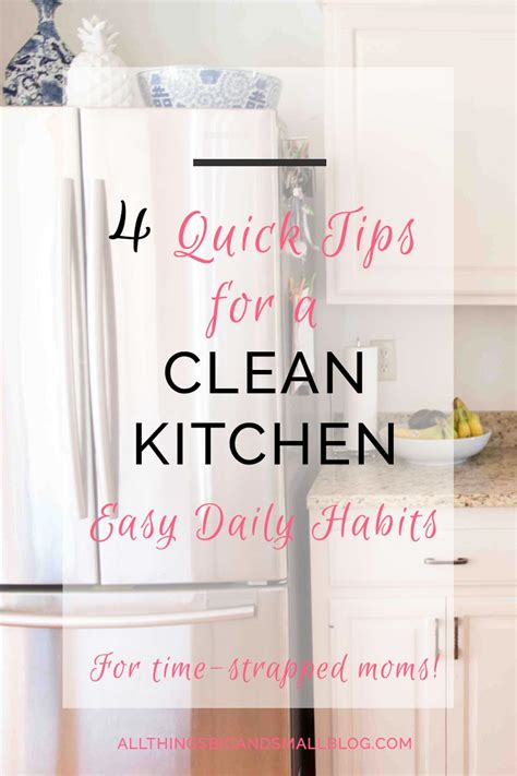 7 quick and easy kitchen cleaning ideas that really work how to have a cleaner kitchen in less time quick tips for