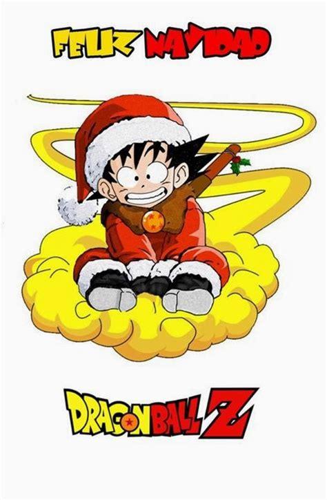 imagenes goku navidad feliz navidad goku dragon ball z imagenes y carteles