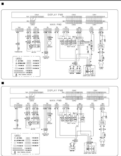 lg washing machine wm0532hw wiring diagram lg dryer wiring