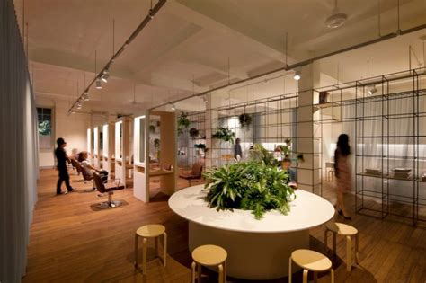 naturalistic hair salons modern beauty salon in sydney dazzles with its sustainable
