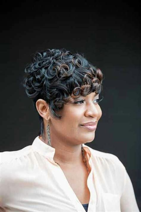 short pin curl hairstyles for black women pin curls hair pinterest