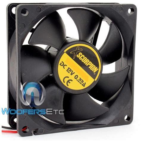 5 volt fan fan3 xscorpion 3 quot 12 volt square rotary fan