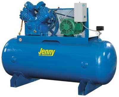 jenny ub    hp  gallon  stage air compressor   phase air compressors