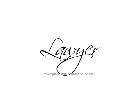 tattoo placement for lawyers lawyer profession name tattoo designs tattoos with names